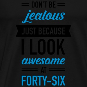 Awesome At Forty-Six Débardeurs - T-shirt Premium Homme