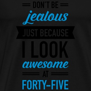 Awesome At Forty-Five Tops - Männer Premium T-Shirt