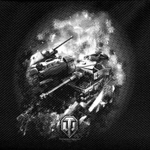World of Tanks Battlefield BW Men T-Shirt - Kids' Backpack