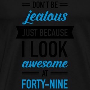 Awesome At Forty-Nine Tops - Men's Premium T-Shirt