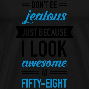 Awesome At Fifty-Eight Débardeurs - T-shirt Premium Homme