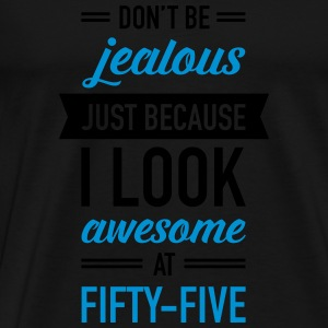 Awesome At Fifty-Five Tops - Men's Premium T-Shirt