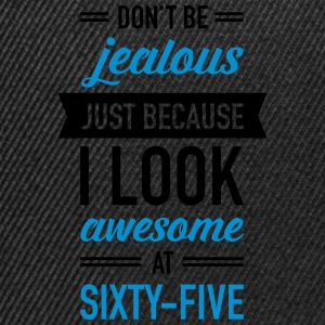Awesome At Sixty-Five T-shirts - Snapback cap