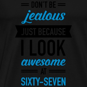 Awesome At Sixty-Seven Débardeurs - T-shirt Premium Homme