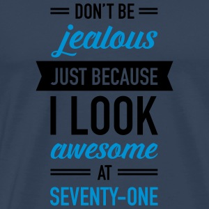 Awesome At Seventy-One Sportbekleidung - Männer Premium T-Shirt