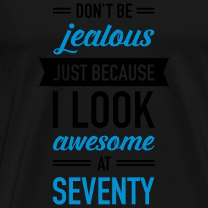 Awesome At Seventy Tops - Männer Premium T-Shirt