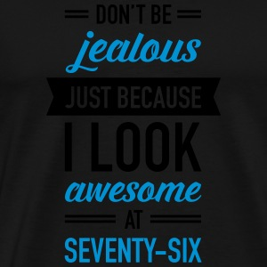 Awesome At Seventy-Six Sportbekleidung - Männer Premium T-Shirt