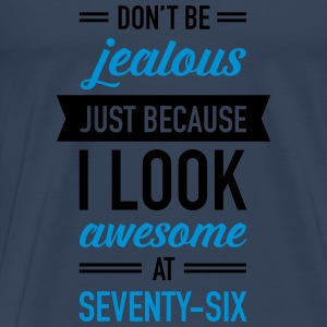 Awesome At Seventy-Six Tops - Männer Premium T-Shirt
