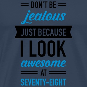 Awesome At Seventy-Eight Sportbekleidung - Männer Premium T-Shirt