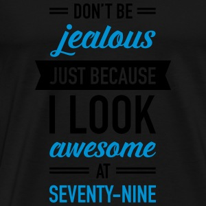 Awesome At Seventy-Nine Tops - Männer Premium T-Shirt