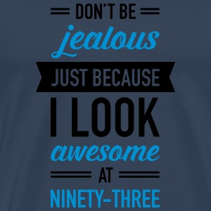 Awesome At Ninety-Three Sports wear - Men's Premium T-Shirt