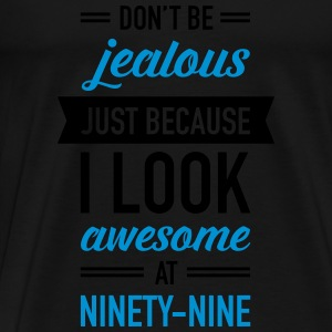 Awesome At Ninety-Nine Tops - Men's Premium T-Shirt