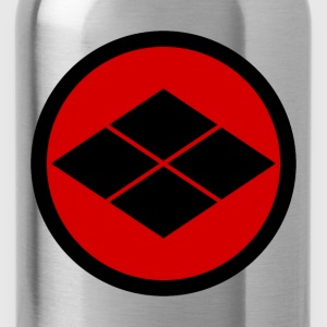 Takeda kamon Japanese samurai clan roundel Shirts - Water Bottle