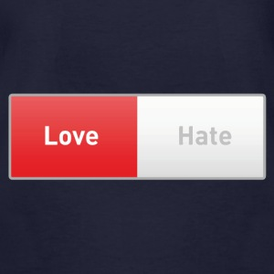 Love on  - Männer Bio-T-Shirt