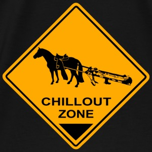 Chillout Zone Road Sign Pullover & Hoodies - Männer Premium T-Shirt