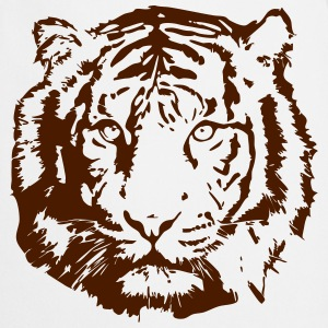 tiger t-shirt - Cooking Apron