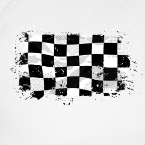 Racing Flag Pullover & Hoodies - Baseballkappe