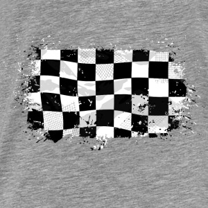 Racing Flag Pullover & Hoodies - Männer Premium T-Shirt