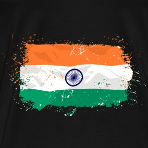 India Flag Pullover & Hoodies - Männer Premium T-Shirt