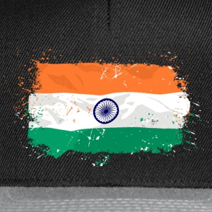 India Flag T-Shirts - Snapback Cap