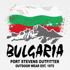 Bulgaria - Mountains & Flag Pullover & Hoodies - Baseballkappe