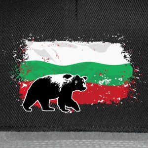 Bulgaria - Bear & Flag T-Shirts - Snapback Cap