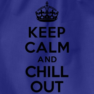 Keep calm and Chill out Tee shirts - Sac de sport léger