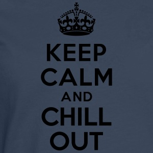 Keep calm and Chill out Tee shirts - T-shirt manches longues Premium Homme