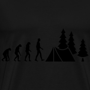 Evolution Camping Sweat-shirts - T-shirt Premium Homme