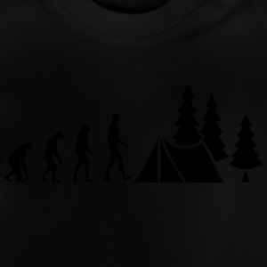 Evolution Camping Shirts - Baby T-shirt