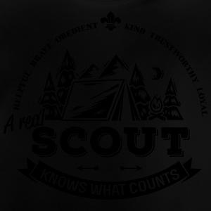 A real scout knows what counts Shirts - Baby T-shirt
