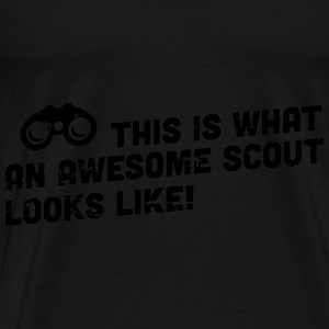 This is what an awesome scout looks like Felpe - Maglietta Premium da uomo