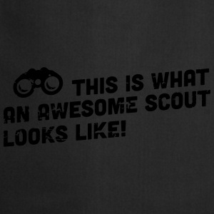 This is what an awesome scout looks like Shirts - Keukenschort
