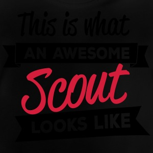 This is what an awesome scout looks like Camisetas - Camiseta bebé