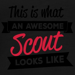 This is what an awesome scout looks like Taschen & Rucksäcke - Männer Premium T-Shirt