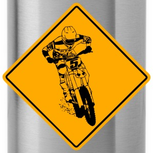 Moto Cross Racing Road Sign Koszulki - Bidon