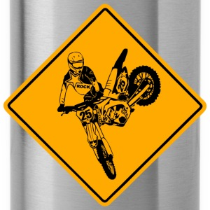 Moto Cross Racing Road Sign Bluzy - Bidon