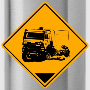 Truck Rallye Road Sign Pullover & Hoodies - Trinkflasche