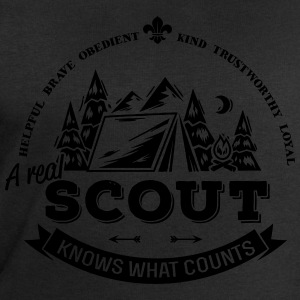 A real scout knows what counts T-Shirts - Männer Sweatshirt von Stanley & Stella