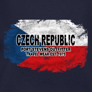 Czech Republic Flag Pullover & Hoodies - Männer Bio-T-Shirt