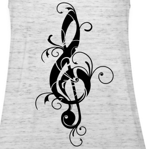 Clef, note, sheet, music, musical, notes, classic Magliette - Top da donna della marca Bella