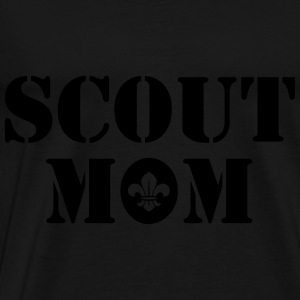 Scout mom Tops - Mannen Premium T-shirt
