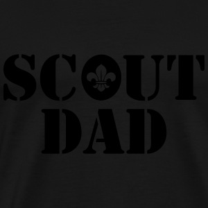 Scout dad Sports wear - Men's Premium T-Shirt
