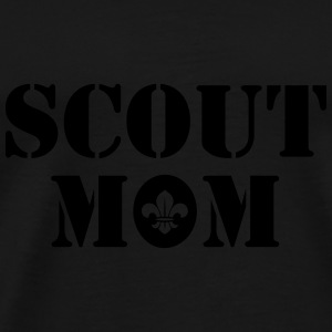 Scout mom Bags & Backpacks - Men's Premium T-Shirt