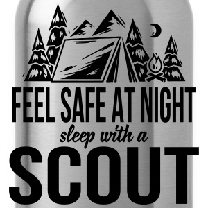 Feel safe at night, sleep with a scout Bags & Backpacks - Water Bottle