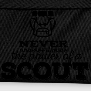 Never underestimate the power of a scout T-shirts - Ryggsäck för barn