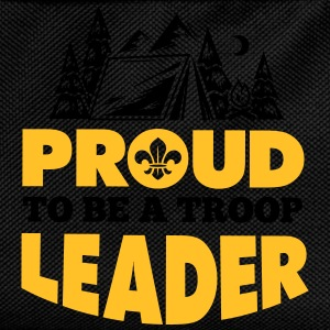 Scout: Proud to be a troop leader T-shirts - Ryggsäck för barn