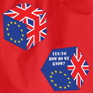 Funny EU Referendum Roll of the Dice - Drawstring Bag