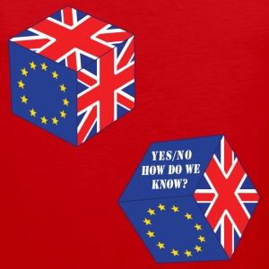 Funny EU Referendum Roll of the Dice - Men's Premium Tank Top