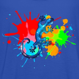 Space Gecko, Lizard, Color, Splash, Festival Tee shirts - Débardeur Femme marque Bella